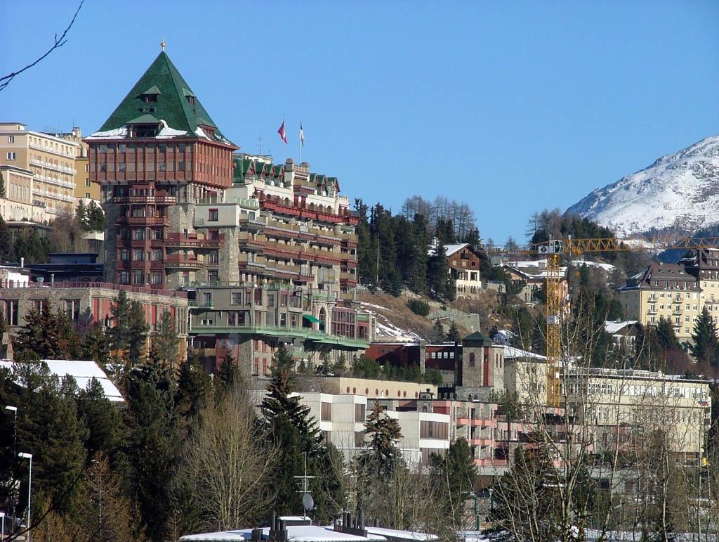 Restaurant  Ef Bf Bd Saint Moritz Suisse