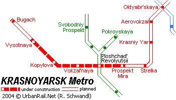 Карта красноярска скачать для печати