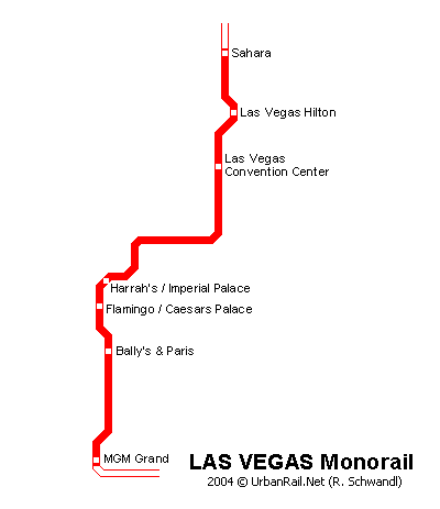 Las Vegas Subway Map for Download | Metro in Las Vegas