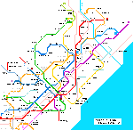 Map of metro in в