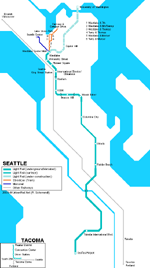 Map of metro in в