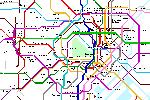 Metrokaart van Tokyo