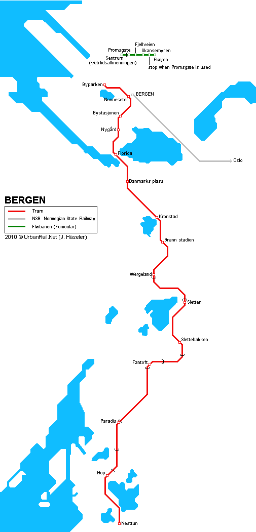 Large Bergen Maps For Free Download And Print HighResolution - Bergen map