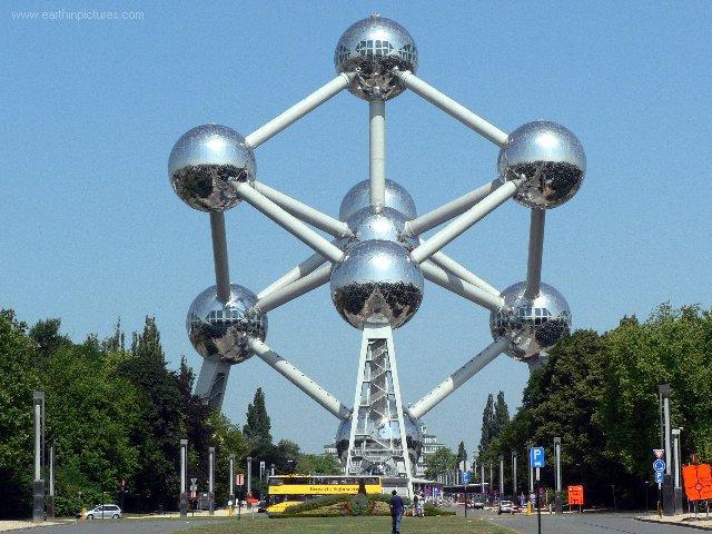 Samedi 21 juillet - Bonne Fête Nationale à tous les Belges Brussels-atomium