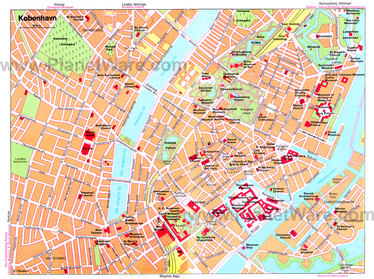 Subway Map Of Copenhagen.Copenhagen Map Detailed City And Metro Maps Of Copenhagen For