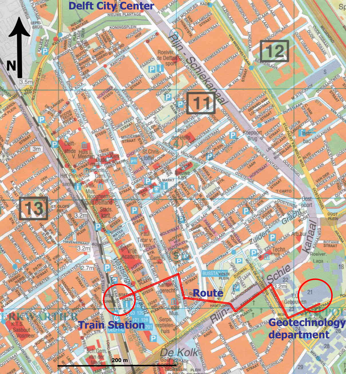 Delft Map Detailed City and Metro Maps of Delft for Download