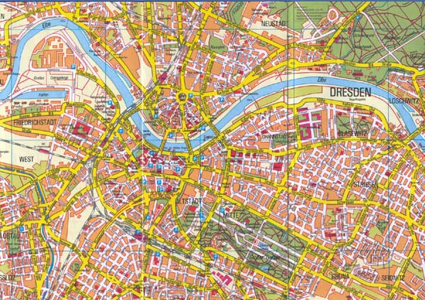 Dresden On Map Of Germany.Dresden Map Detailed City And Metro Maps Of Dresden For Download