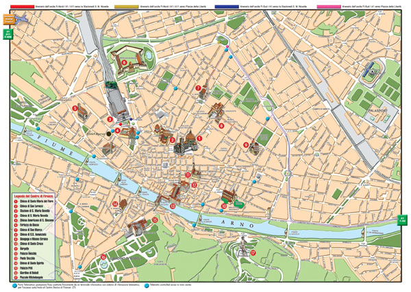 Large Florence Maps for Free Download – Tourist Map Of Florence