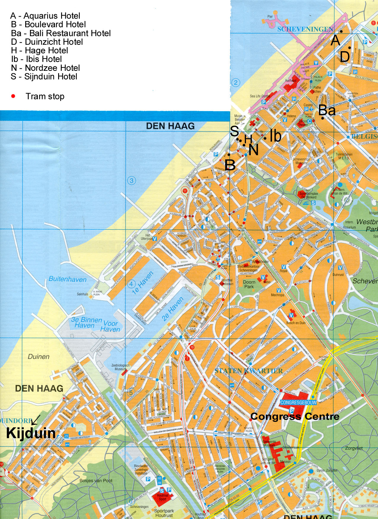 The Hague Map Interactive and Detailed Maps of The Hague