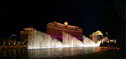 Фонтаны Белладжио (Bellagio Fountains)