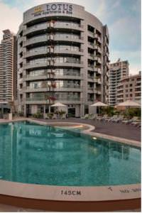 Отель Lotus Hotel Apartments & Spa - Marina