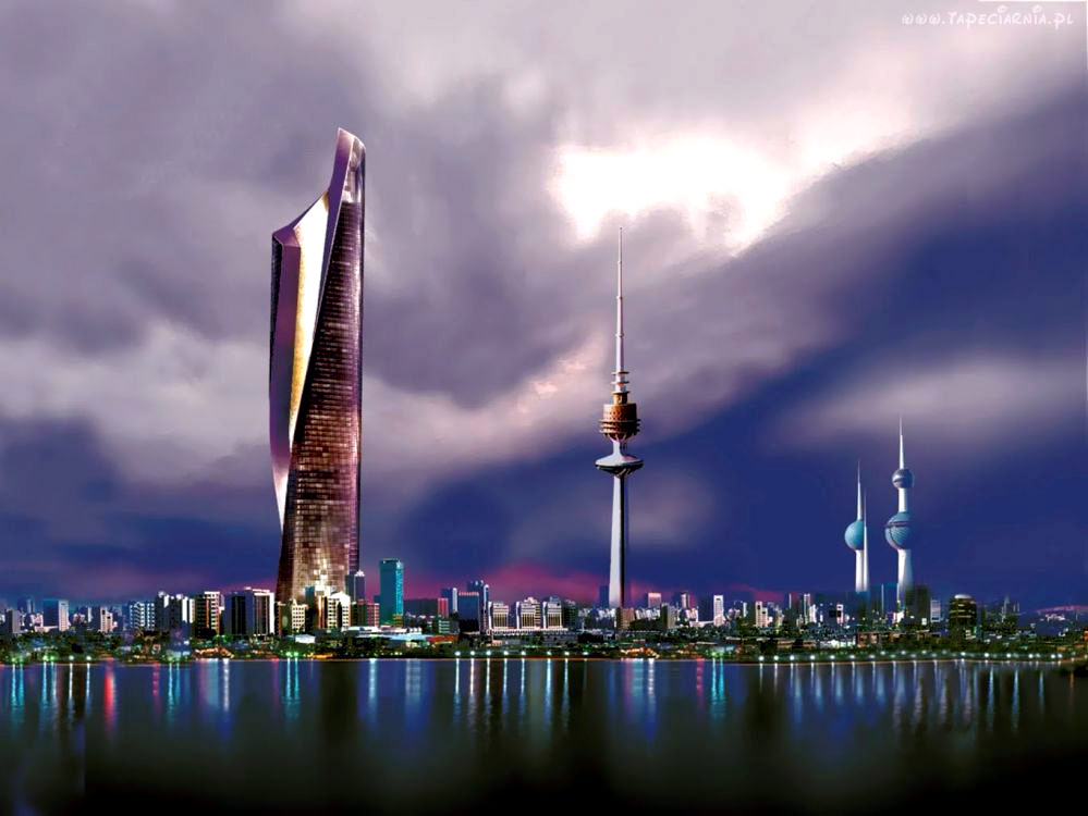 Al hamra tower series 39 highest buildings in the world for Home wallpaper kuwait