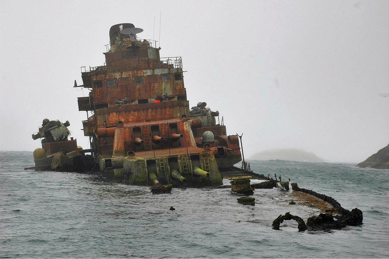 Gallant Lady Wrecks | Series The Surviving Remains of