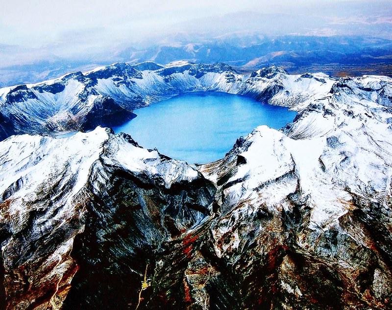 Vulkane Der Erde Karte.Changbaishan Vulkan Vulkane Und Naturkräfte Die Das Angesicht Der