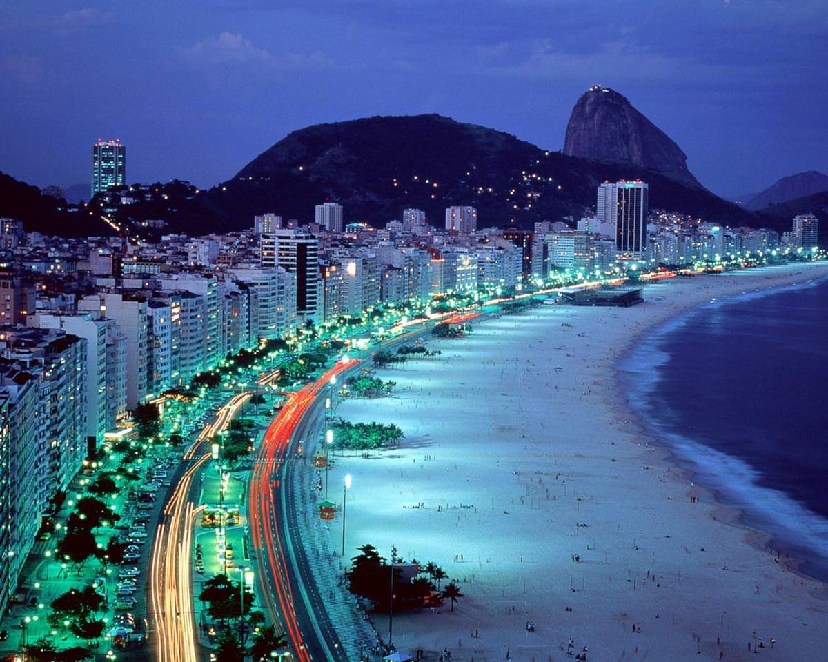 Copacabana Beach Brazil