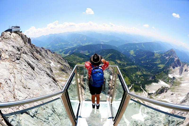 Dachstein Sky Walk Series Highest Observation Points