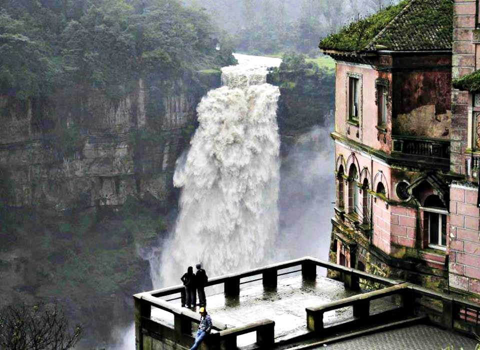 Top Haunted Places in the World - Hotel Del Salto, Colombia