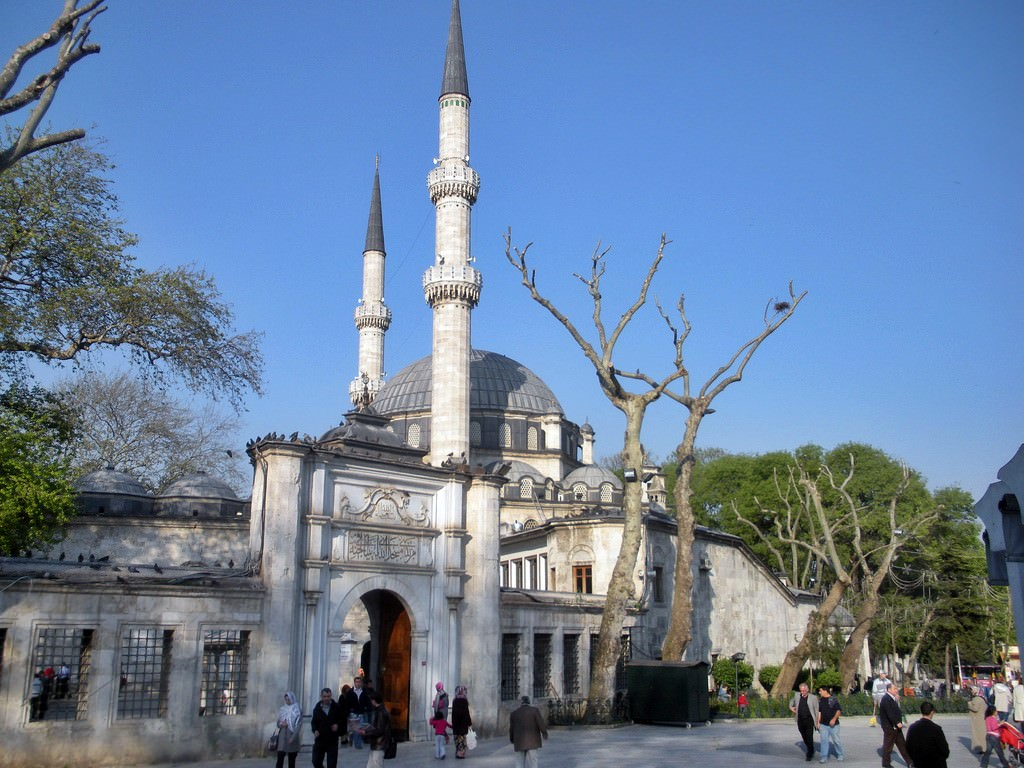 Eyup Sultan Camii | Series 'Top Largest and Famous Mosques ...