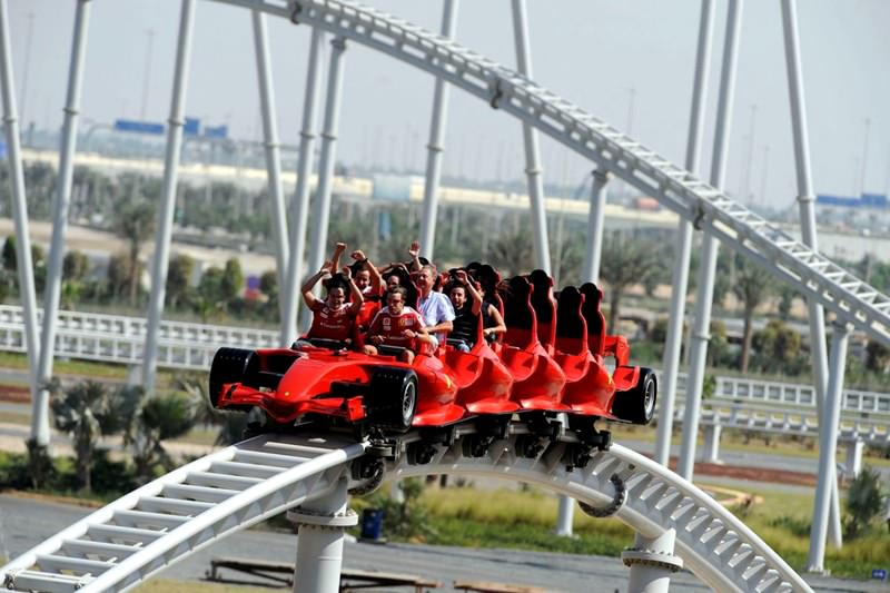 Lovely ... Roller Coasters In The Worldu201d. Formula Rossa, United Arab Emirates