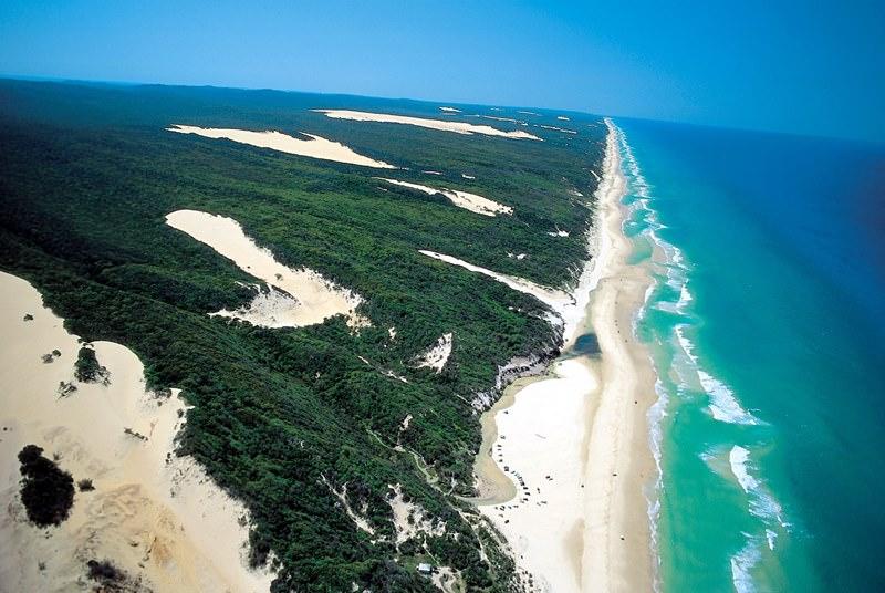 Картинки по запросу Пляжи острова Фрейзер