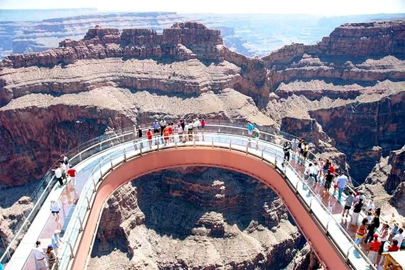 Grand Canyon Skywalk Series Highest Observation Points