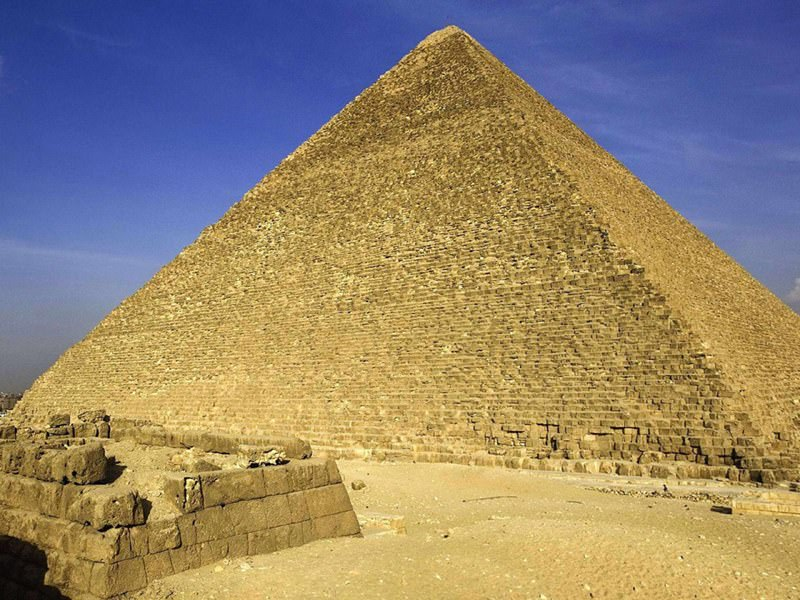 Cheops Pyramide Alter