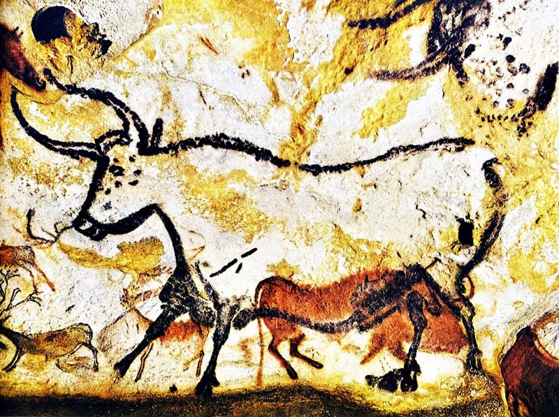 Höhle In Frankreich Lascaux