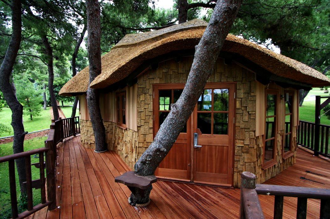 blue forest baumhaus unglaubliche baumh user. Black Bedroom Furniture Sets. Home Design Ideas
