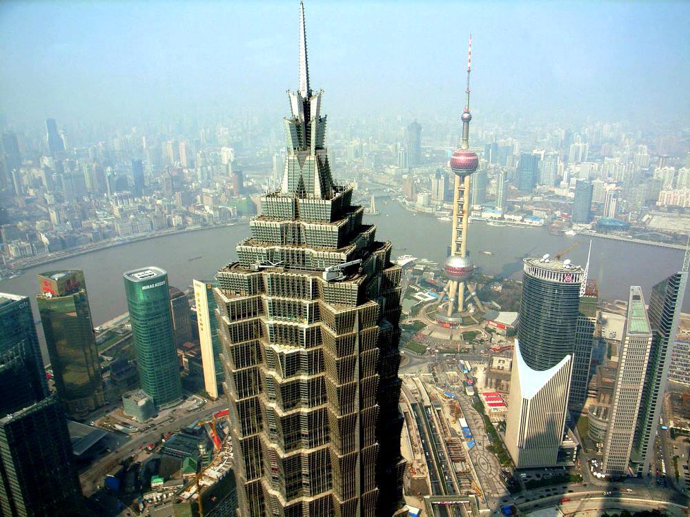 Картинки по запросу небоскреб Цзинь Мао