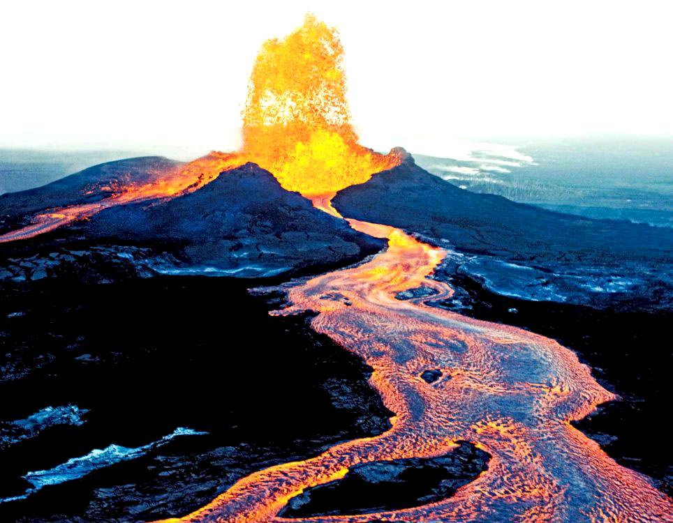 Big Island Volcano Photos