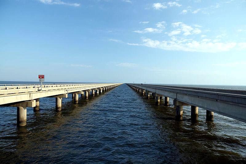 Pontchartrain See Damm-Brücke | Die längsten Brücken der Welt ...