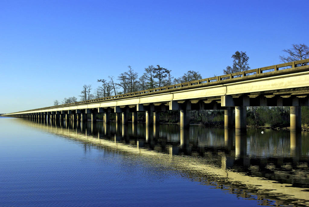 Louisiana Airborne Memorial Bridge Series The Longest Bridges - Longest bridge in the usa
