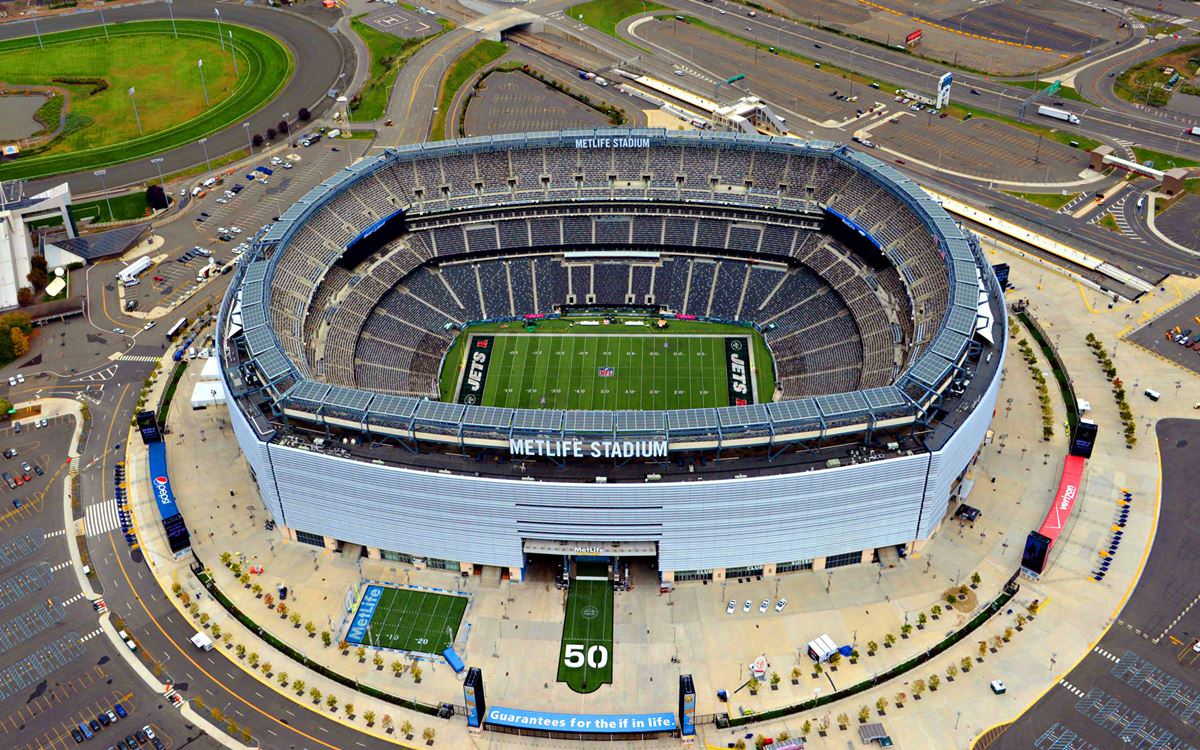 Location New Jersey Usa On The Map Year 2010 More About Metlife Stadium