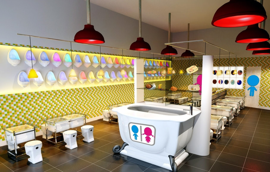 Modern Toilet Restaurant Series The Most Exotic