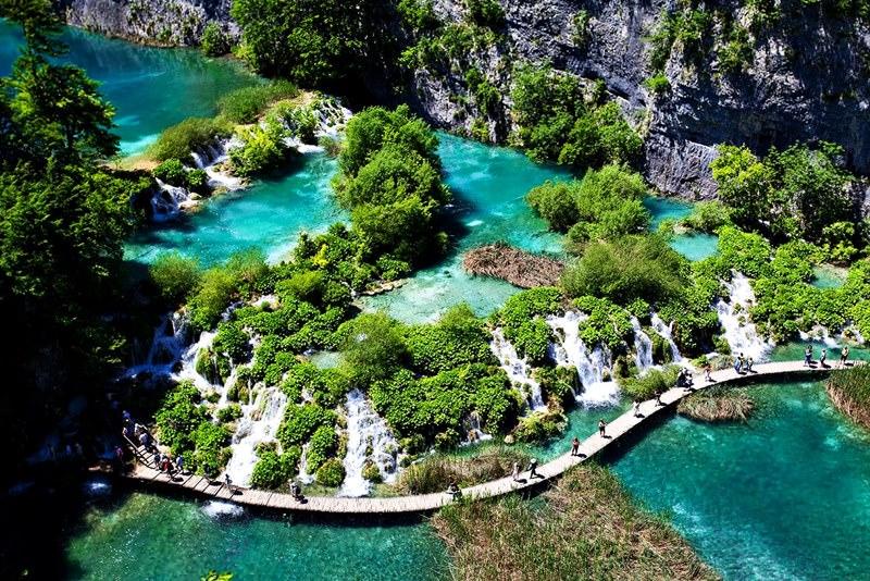 Nationalpark Plitvicer Seen Karte.Nationalpark Plitvicer Seen Die 15 Erstaunlichsten