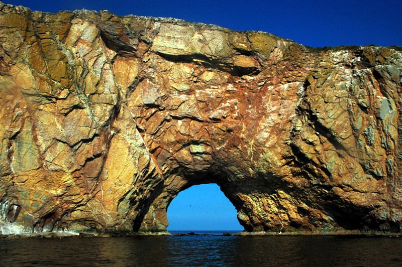 Rocher Perce  Series Incredible Natural Arches Built By Water And