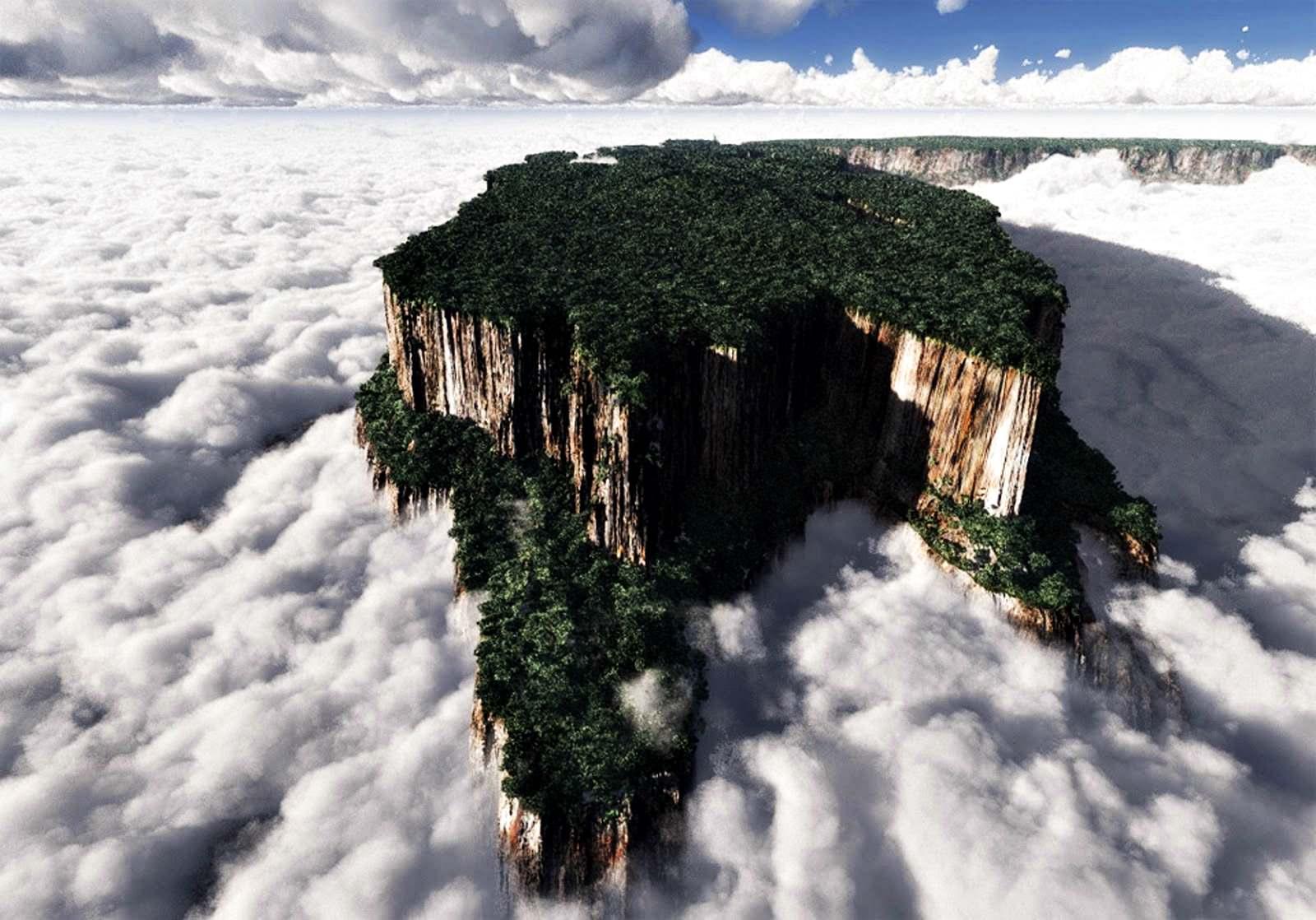 Roraima Dağı | Koleksiyon 'En Fantastik 15 Doğa Oluşumu'