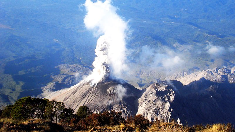 Santa Maria, Guatemala - most famous volcanoes in the world