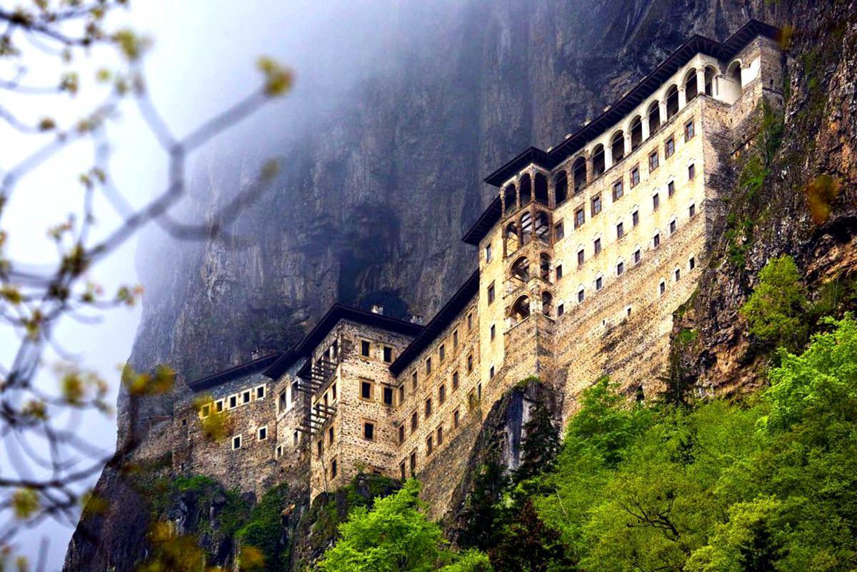 Sumela monastery  Series Worlds most remote monasteries ...