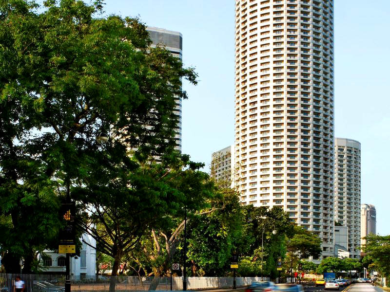 Swissotel the stamford series 39 the world 39 s tallest for Tallest hotel in singapore