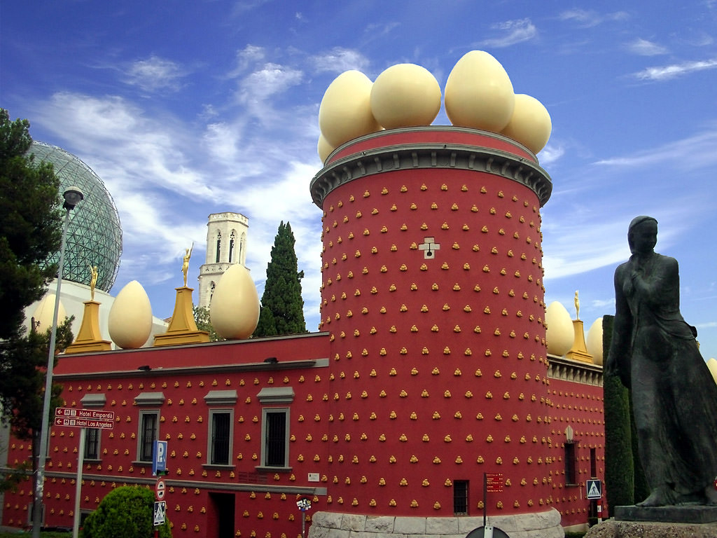 Teatro Museo Dali.Teatro Museo Dali Series Houses Of Famous People And Stars
