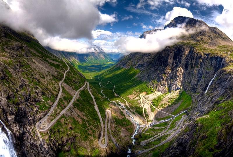 Trollstigen series most thrilling mountain roads orangesmile trollstigen norway publicscrutiny Images