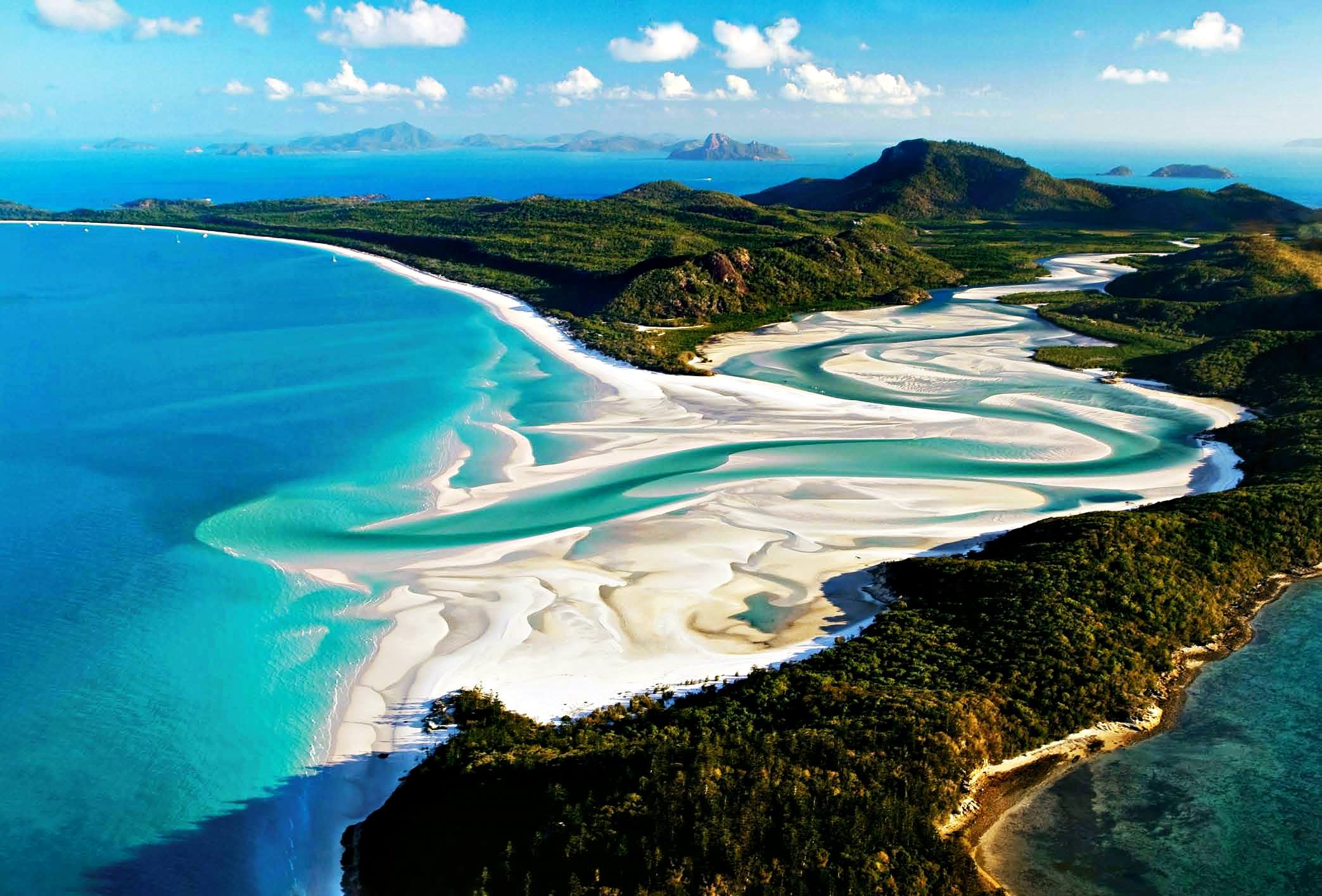 Whitehaven beach series 39 the hidden and hard to rich for Beautiful beaches in la