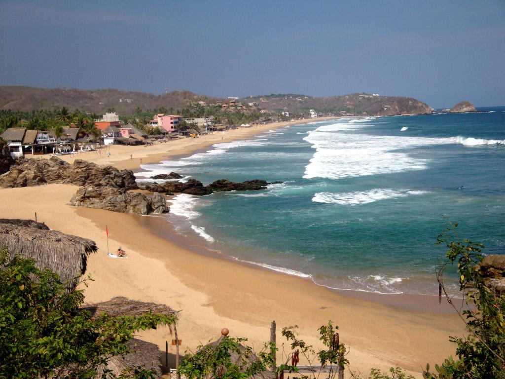 Zipolite Beach Mexico