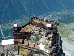 Aiguille du Midi Aussichtsplattform