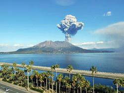 Aira Volcano, Japan