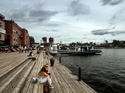 Aker Brygge Waterfront, Norway