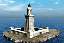 Pharos von Alexandria, Ägypten