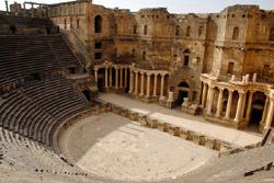 Амфитеатр в Босре, Сирия