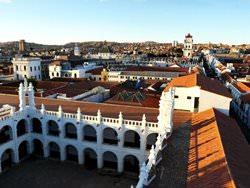Die antike Stadt Sucre, Bolivien